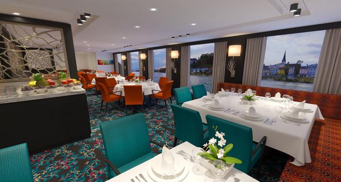 AmaMagna - מסעדה מרכזית . צילום אתר החברה