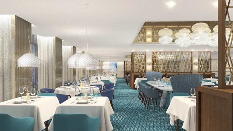 סלבריטי אדג' : מסעדת קפריסין . הדמיה סלבריטי